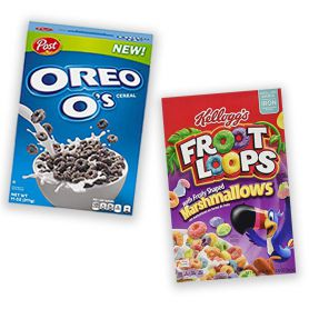 Pack Cereales Oreo O's y...