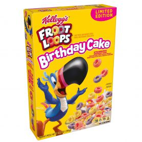 Froot Loops Birthday Cake 286g