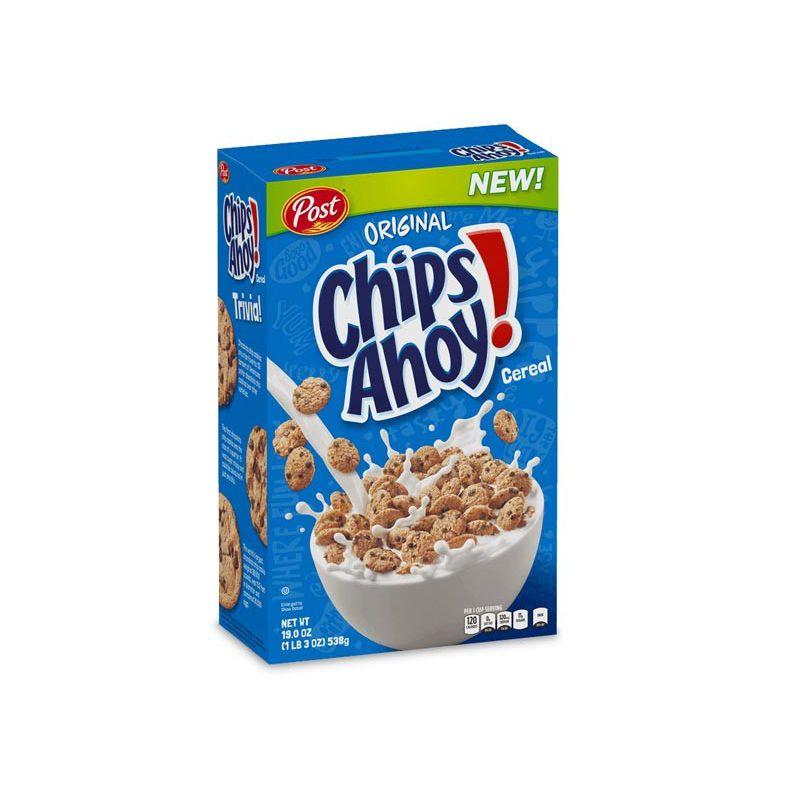 Post Chips Ahoy Cereal 311gr