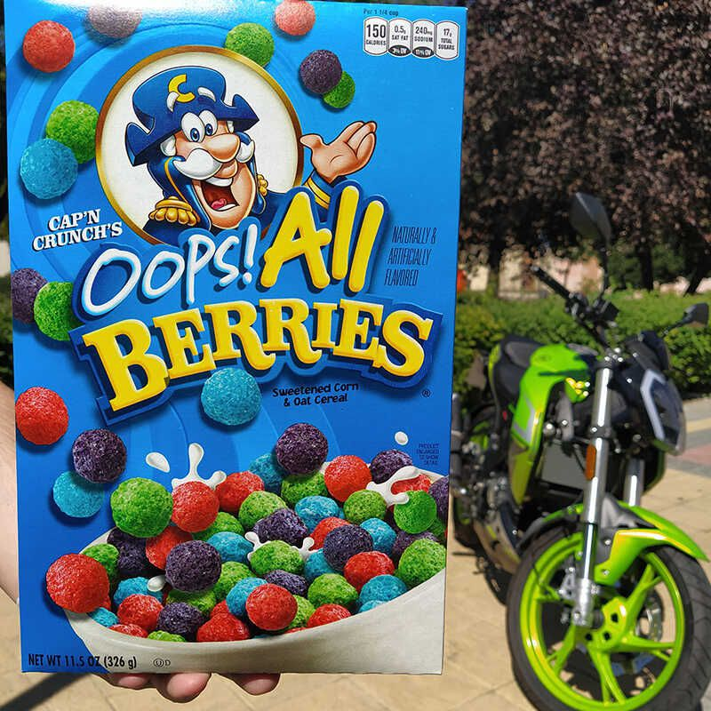 Capn Crunch Oops All Berries Cereal For more information about oops! cereal market